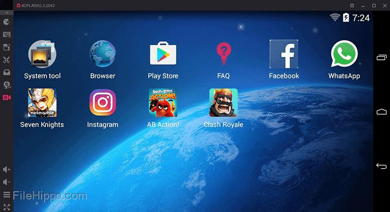 Android Features का मजा ले कम्प्यूटर पर -KO Player