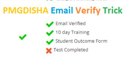 How Do PMGDISHA Email Verify Trick 2019