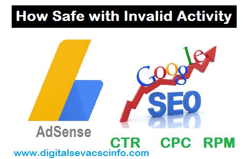 adsense invalid activity