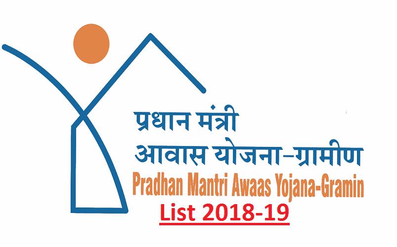 pradhan mantri awas yojna list poster