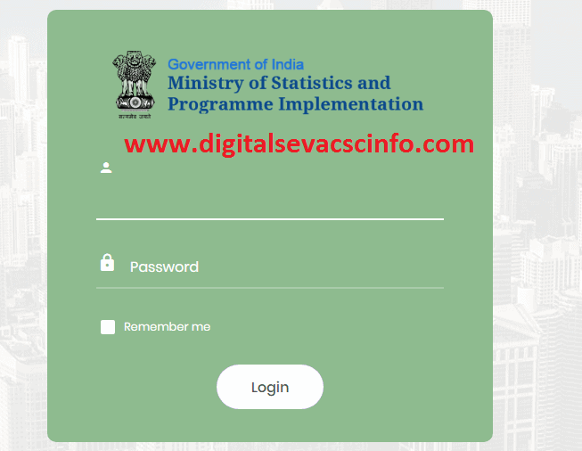 csc economic survey login page