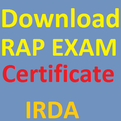 DOWNLOAD RAP CERTIFICATE