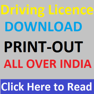 how print driving licence