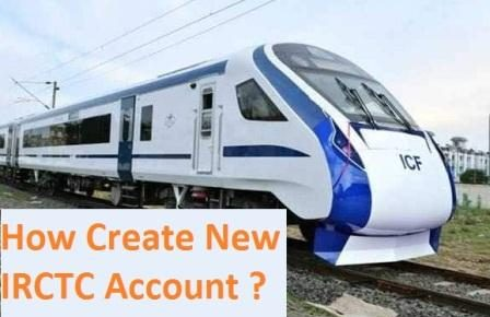 How create irctc account
