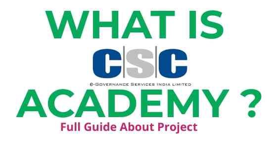 What is CSC Academy ? CSC Academy Block Level Center