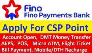 apply fino payment bank csp