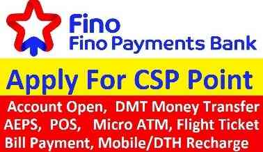 apply fino payment bank csp
